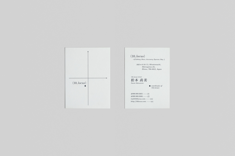 画像:Business card